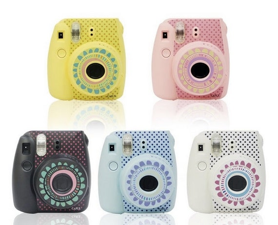 Fujifilm instax mini 8 camera sticker decoration by for Instax mini 8 housse