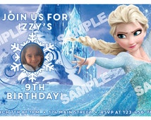 Frozen Themed Invitation
