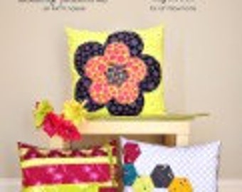 SALE Pillow Trio Sewing Pattern by Patty Young for ModKid