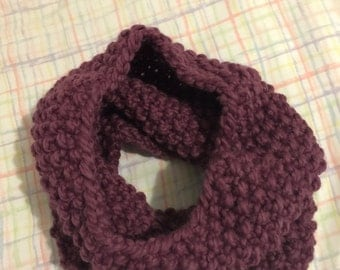 Hand Knit Neck Warmer/Scarf - Figue