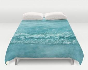housse de couette plage etsy. Black Bedroom Furniture Sets. Home Design Ideas
