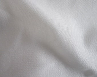 """Lightweight iron on fusible interfacing fusing web Off White Fabric by Half Yard sewing supply 48"""" wide interfacing interlining"""