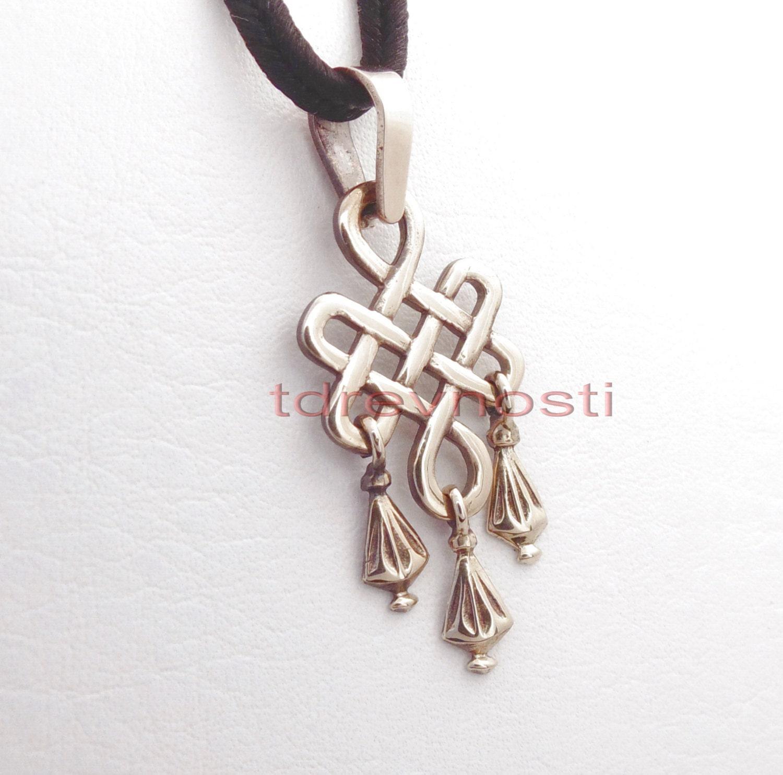 infinity knot celtic necklace celts bronze pendant celtic