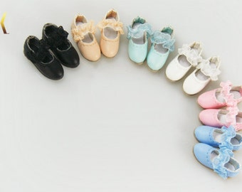Cute Flat shoes for Blythe Pullip Dal Momoko OB21 Azone Poppy