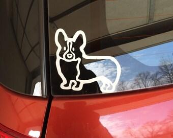 Pembroke Welsh Corgi Sticker for Car or ANYWHERE !