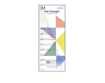 EZ Quilting Tall Triangle Template Ruler Item # 7299A