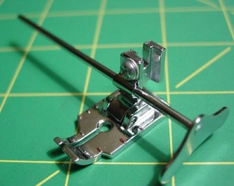 """Metal 1/4"""" Patchwork Foot with Guide for Singer Low Shank Sewing Machine"""