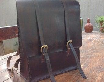Agarapati Leather Backpack