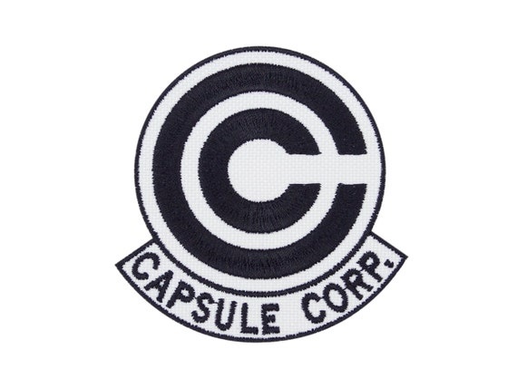 Capsule Corps Patch Dragon Ball z Capsule Corp