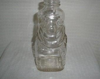 Grapette Products Clown Bank Glass Vintage 1950's