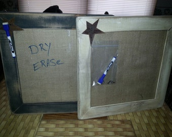 dry erase message board bulletin boards