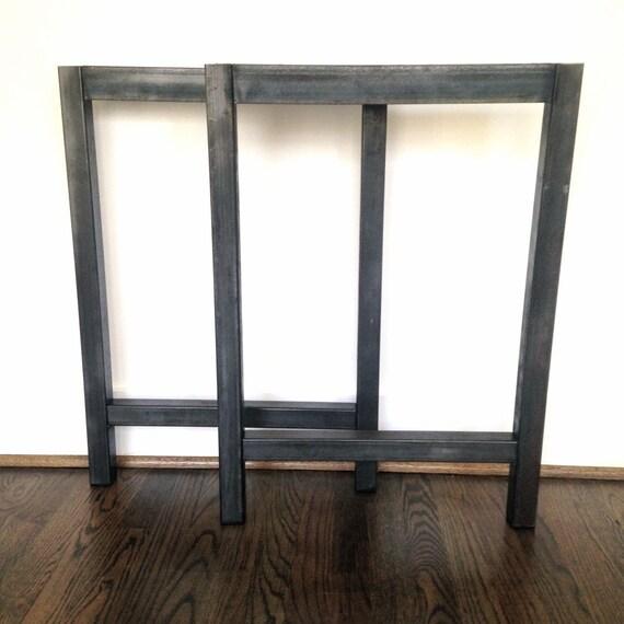 h cadre bureau pieds table en acier jambes plusieurs. Black Bedroom Furniture Sets. Home Design Ideas