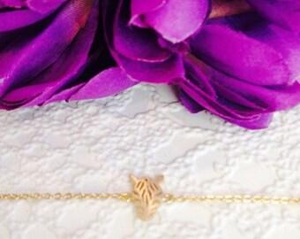 Gold Zebra bracelet