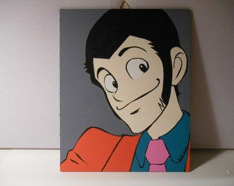 Lupin III - Lupin the third-  - Canvas 20x25