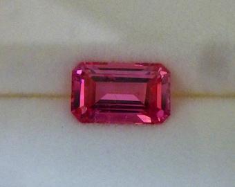 1.67 Carat Mahenge Hot Neon Pink Spinel, U.S. Cut!
