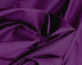 Purple 100% cotton fabric.