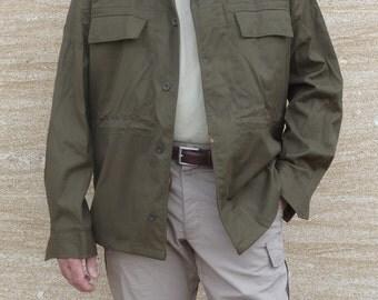 Vintage Army Czech jacket olive