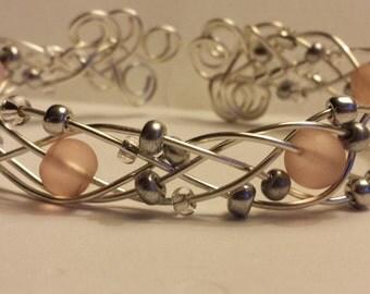 Delicate Weave & Baubles Bracelet