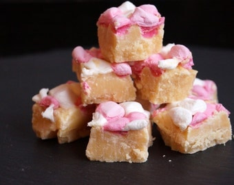 150g/6oz Marshmallow Vanilla Fudge - Homemade