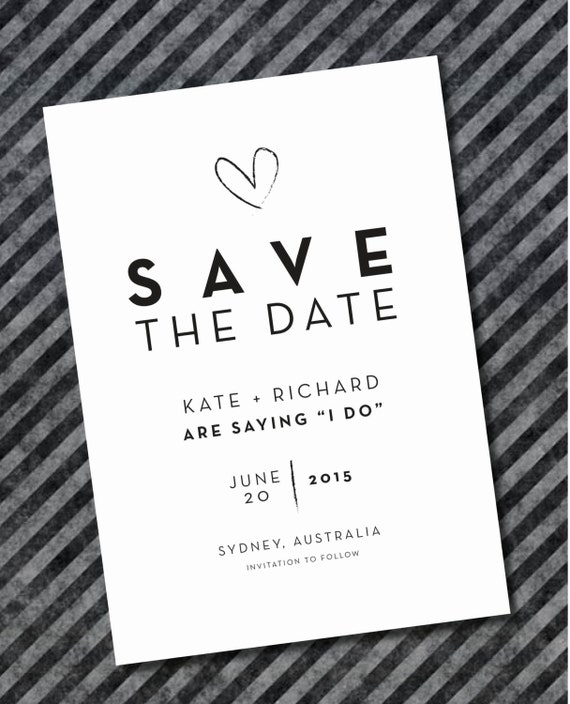 When To Send Save The Date: Printed Save The Date Invitations