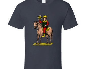 Horse Knight Cavallo Italian Cards Scopa Briscola T Shirt