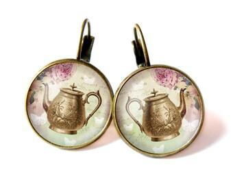 Tea time earrings
