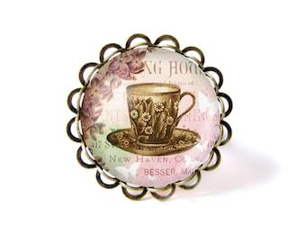 Tea time ring