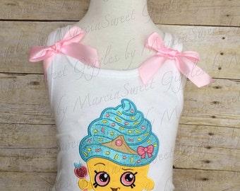 Shopkins Cupcake Queen tank top or shirt.
