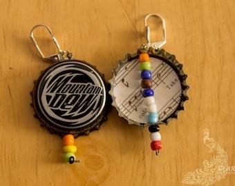 Mountain dew earrings
