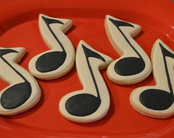 Music Note Cookies