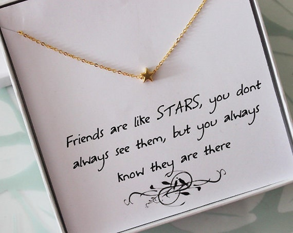 ... Necklace, Jewelry gift for Sister, Thank you jewelry, best friend gift