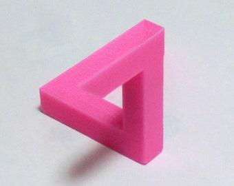 3D Printed Optical Illusion Penrose Triangle
