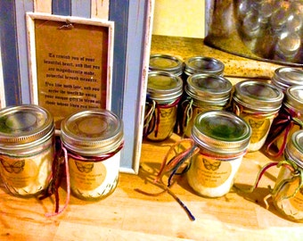 Eucalyptus - Lemon Handcrafted Essential Oil Soy Candles