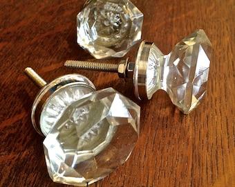 Glass Decorative Knob - Furniture Pull