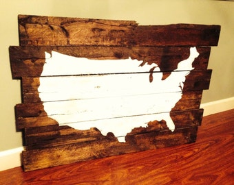 USA Pallet Art
