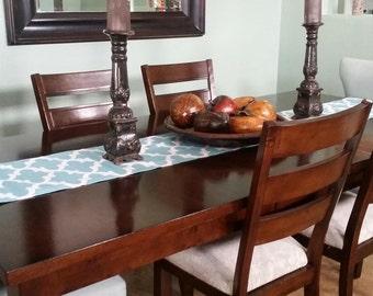 Kitchen Table Runner - Blue Kitchen Table Runner - Kitchen Table - Blue Table Runner