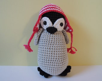 "Stuffed Penguin ""Pip"""