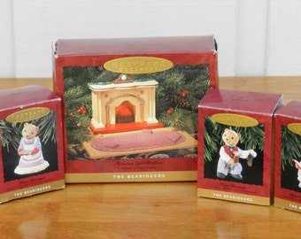 Hallmark Bearinger Bear Collector Set            00201