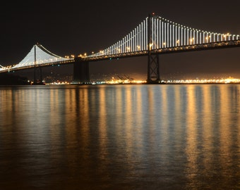 Bridge Photography San Francisco Bay Bridge California 11 by 22