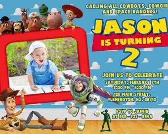 Toy Story Invitation Birthday Party