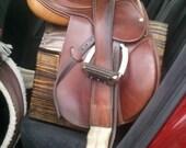 Equine Saddle Rack, Wooden Saddle stand