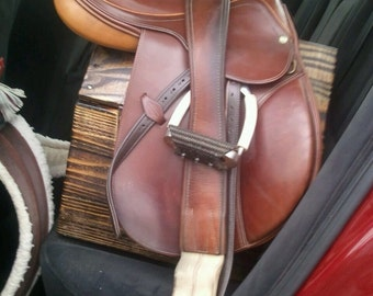 Equine Saddle Rack, Wooden Saddle stand