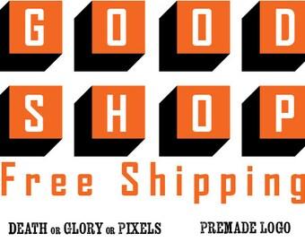 Block Goodness Custom Logo