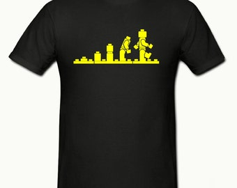 Lego Evolution t shirt, boys t shirt sizes 5-15 years,childrens gamer t shirt