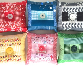 Steppy Patchwork Pin Cushion Kit