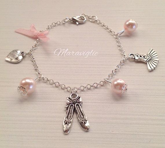 Ballet Charm Bracelet