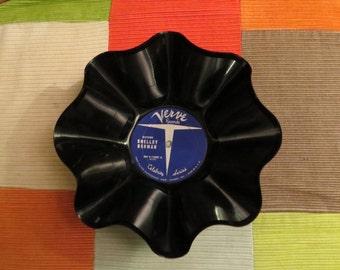 Recycled Vinyl Bowl