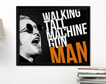 Alice in Chains poster, rock poster, Layne Staley, music art, typography art