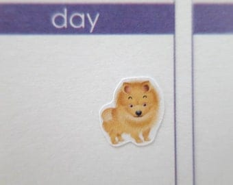 60 Dog Stickers  | Planner Stickers designed for use with the Erin Condren Life Planner | 0111