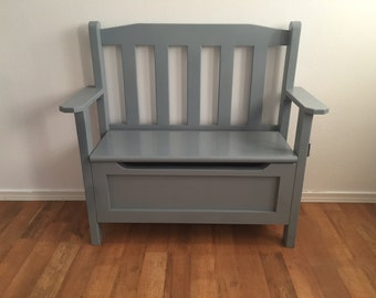 Toy Chest Bench for Nursery or Playroom